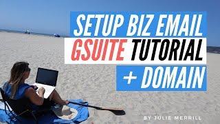 How To Set up G Suite E-Mail für Unternehmen und Kaufen Sie Ihre Eigenen Domain