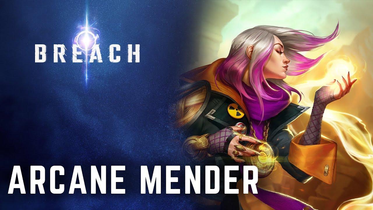 Arcane Mender - Official Breach Wiki