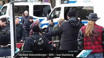 """""""Das Beste, was mir je passiert ist"""" - Islamkonvertit in Hamburg - BPE-Kundgebung"""