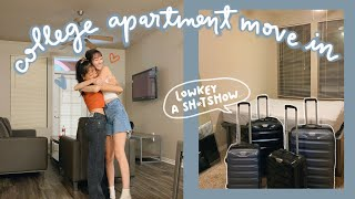 college apartment move in VLOG 2020!