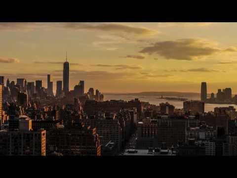 Sunset Time Lapse, New York City, Jan 2014