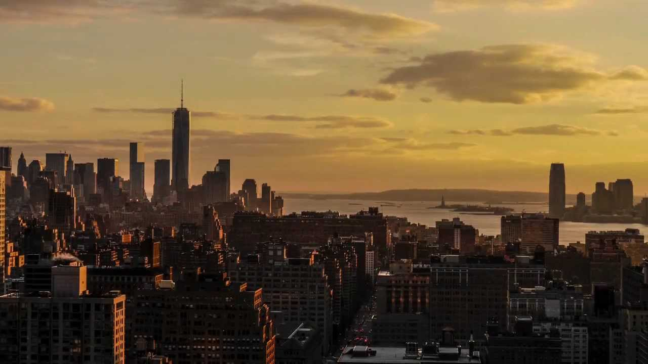 Fall Wallpapers For A Cell Phone Sunset Time Lapse New York City Jan 2014 Youtube