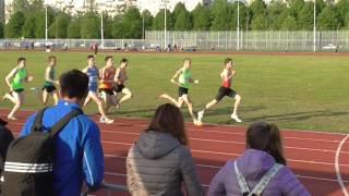 Первенство СПб среди молодёжи лето 800м. 2017