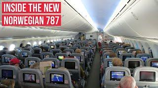 NEW Norwegian Boeing 787 Dreamliner ✈ On Board Cabin Views
