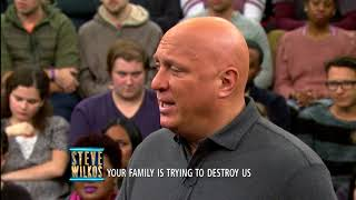 Dana Breaks Down After The Results (The Steve Wilkos Show)