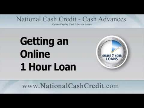 Online One Hour Loan: Getting An Online One Hour Loan Http://www.nationalcashcredit.com