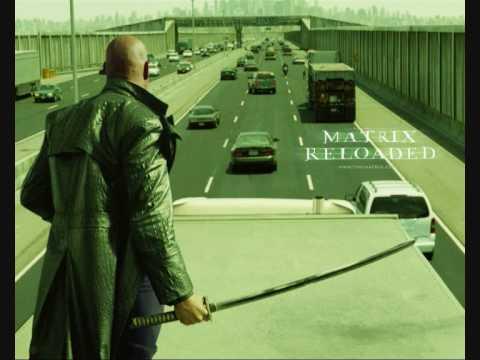 Matrix Reloaded Music - Truck vs Truck