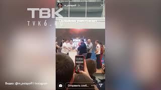 В Красноярске прошел чемпионат мужских пощечин