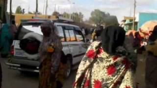 Ethiopia: Walking in the Market in Jijiga ジジガのマーケットを歩く