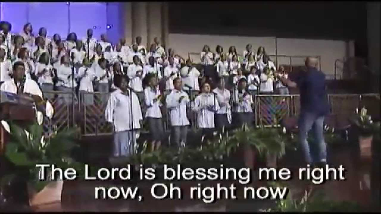 """The Lord Is Blessing Me Right Now"" FBCG Young Adult Choir ..."