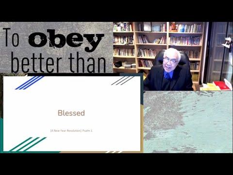 2021-01-31 Elder Sam Cheung - Blessed...