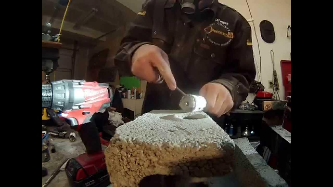 Lenox Carbide Grit Hole Saw Cutting Concrete Block Masonry