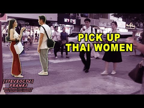 Thai Women Pick Up In Bangkok