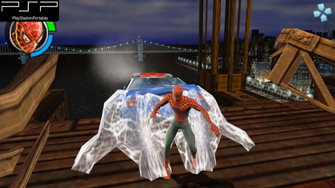 Spider-Man 2 - PSP Gameplay 1080p (PPSSPP) - YouTube