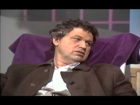 Günther Jauch im Gespräch mit Gerhard Polt 1988