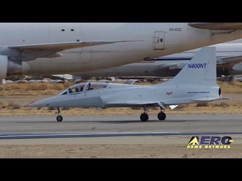 Airborne 08.24.16: Northrop Grumman T-X, Refurbished F-14A, Helo Cash Drop