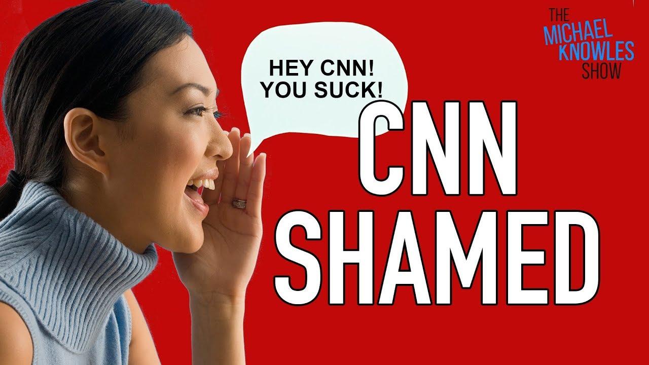 CNN Hilariously Shamed At Trump Rally