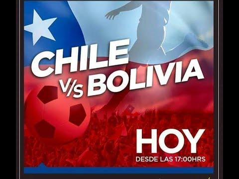 Chile vs  Bolivia (World Cup Russia Live)