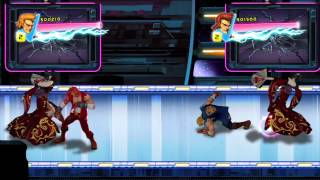 Double Dragon Neon HD Game gameplay teaser trailer - PS3 X360