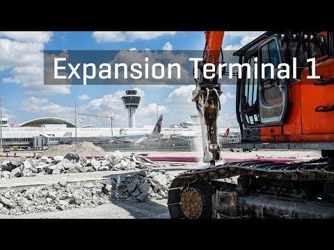 Expansion Terminal 1:  Deconstruction Western Apron | Munich Airport