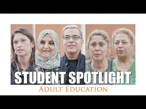 Student Spotlight⎪Adult Education