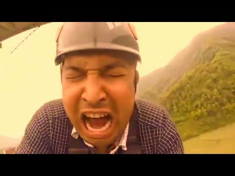 Nepal's Funniest Bungee Jumping ever.