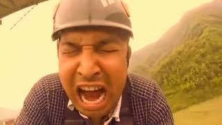Nepal's Funniest Bungee Jumping