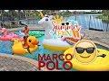 Swimming Pool FUN playing MARCO POLO & Getting Ice Cream!