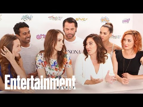 Wynonna Earp Cast Teases Rest Of The Season At Comic-Con 2017   SDCC 2017   Entertainment Weekly