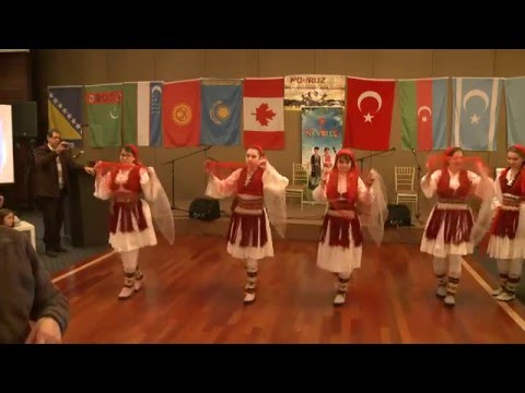 Albanian Folk Dance - Nevruz Spring Festival 2016