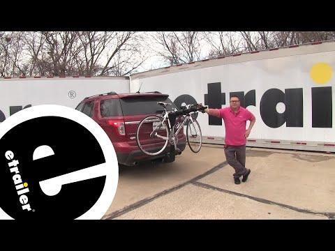 Thule Apex XT 4 Bike Rack Review - 2013 Ford Explorer - etrailer.com