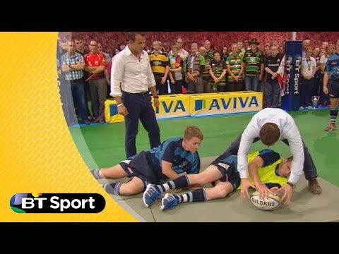 Pitch Demo: Brian O'Driscoll breakdown masterclass | Rugby Tonight