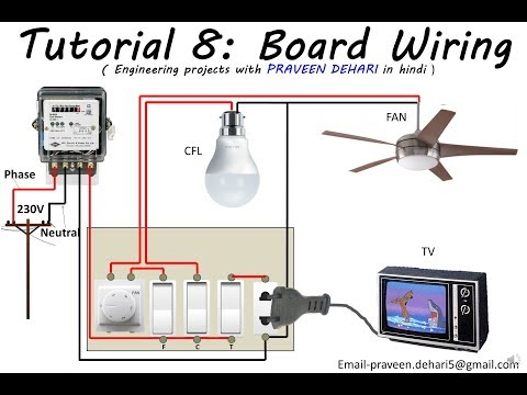 Electrical Board Wiring : Tutorial 8
