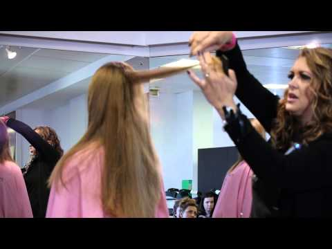 Razor Cut Hairdressing Demonstration