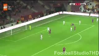 Galatasaray 4:0 Manisa Maçın Golleri ve Geniş Özeti Çeyrek Final TÜrkiye Kupası 3 Mart 2015