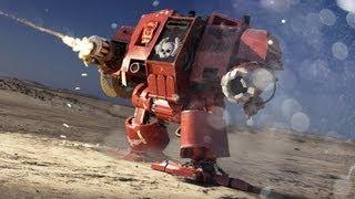 NEW Warhammer Dreadnought Animation