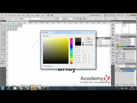 Adobe Illustrator CS5 tutorial - part 01