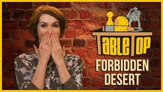 Forbidden Desert: Felicia Day, Alan Tudyk, and Jon Heder join Wil Wheaton on TableTop S03E02