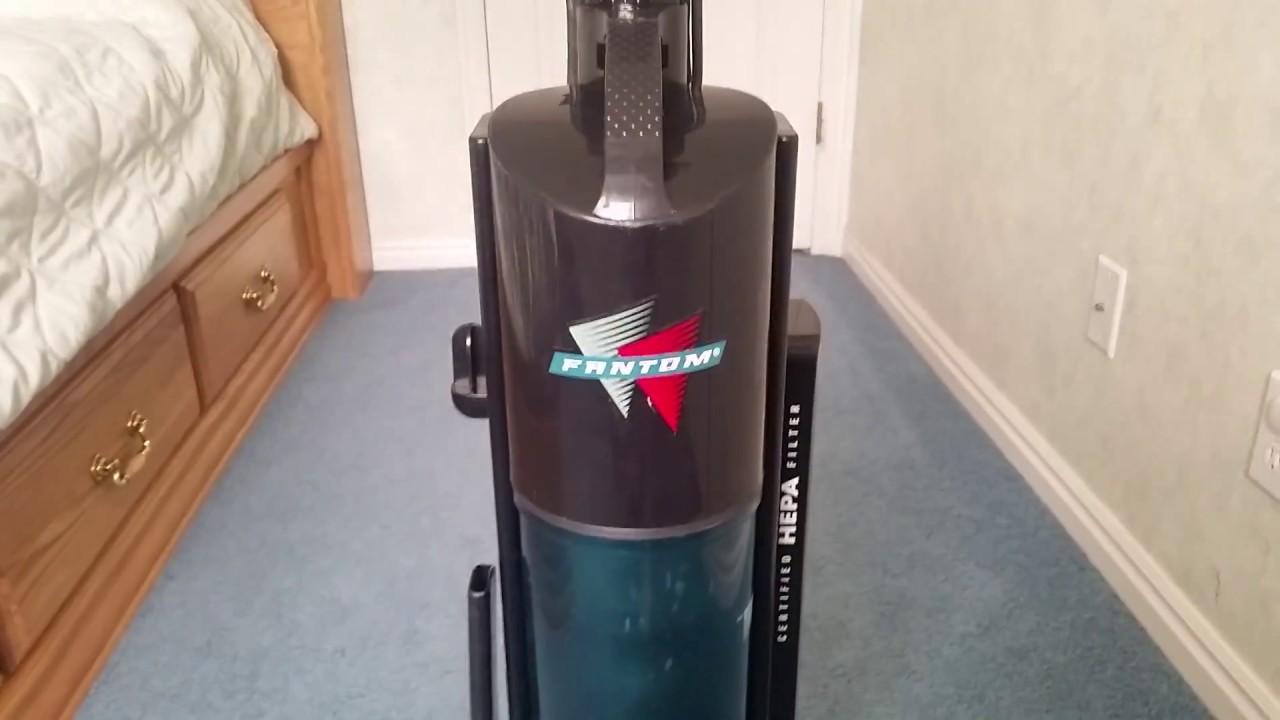 Fantom Fury Upright Vacuum Youtube