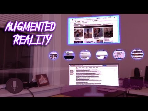 Let's Make An Augmented Reality Web Browser (Unity AR)
