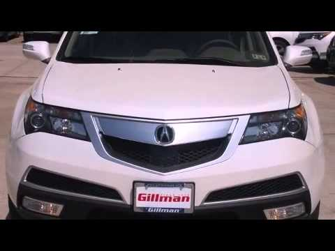 2013 Acura MDX with Advance and Entertainment Packages