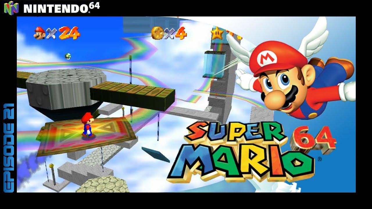 Teppiche, Regenbögen und weitere Hindernisse | Super Mario 64 | #021