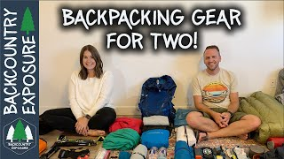 When Couples Go Backpacking | Gear Load Out