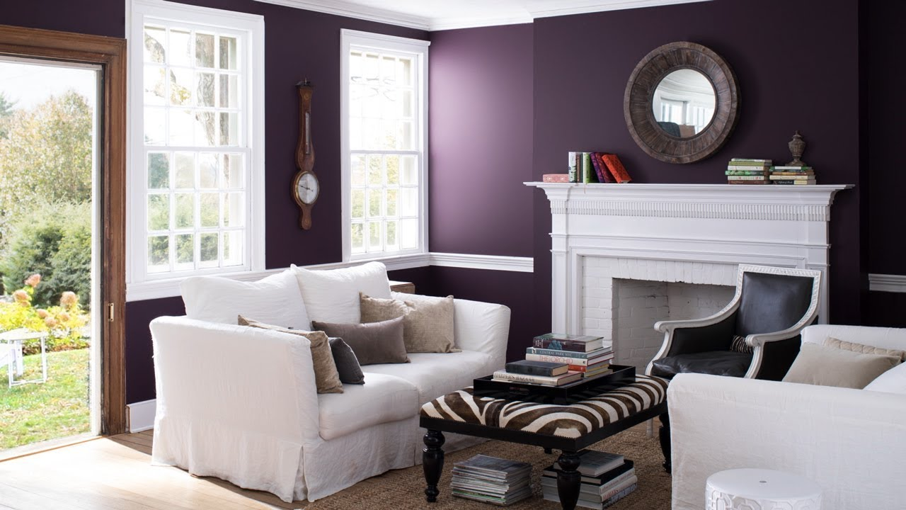 Living Room Paint Color Ideas To