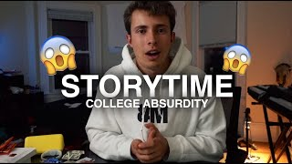 most absurd thing i've seen at college: STORYTIME | VLOG⁴ 008