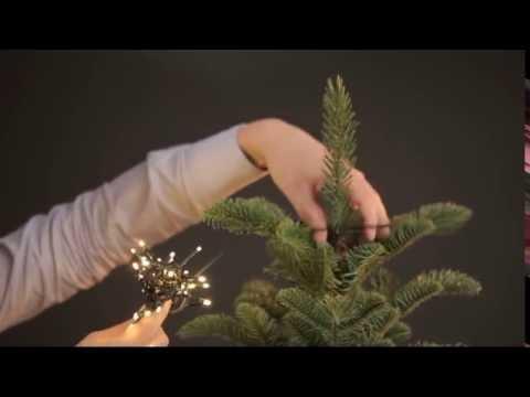 1 2glow Led Weihnachtsbaum Lichterkette Youtube