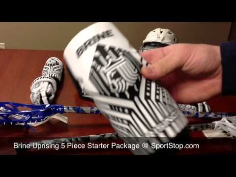 Brine Uprising 5-Piece Lacrosse Starter Package - Overview By SportStop.com