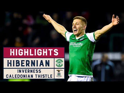 Hibernian Inverness CT Goals And Highlights