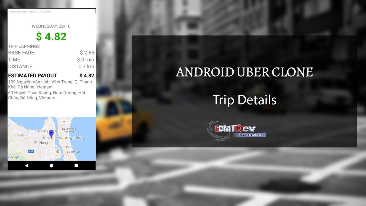 Android Uber Clone - Part 19  Driver Trip Details