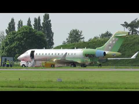 GLEX 1325: the first outing of the second Bombardier Global 6000 modified for UAE Air Force